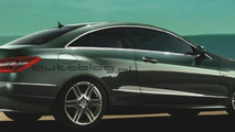 Mercedes-Benz E-Class Coupe leaked images