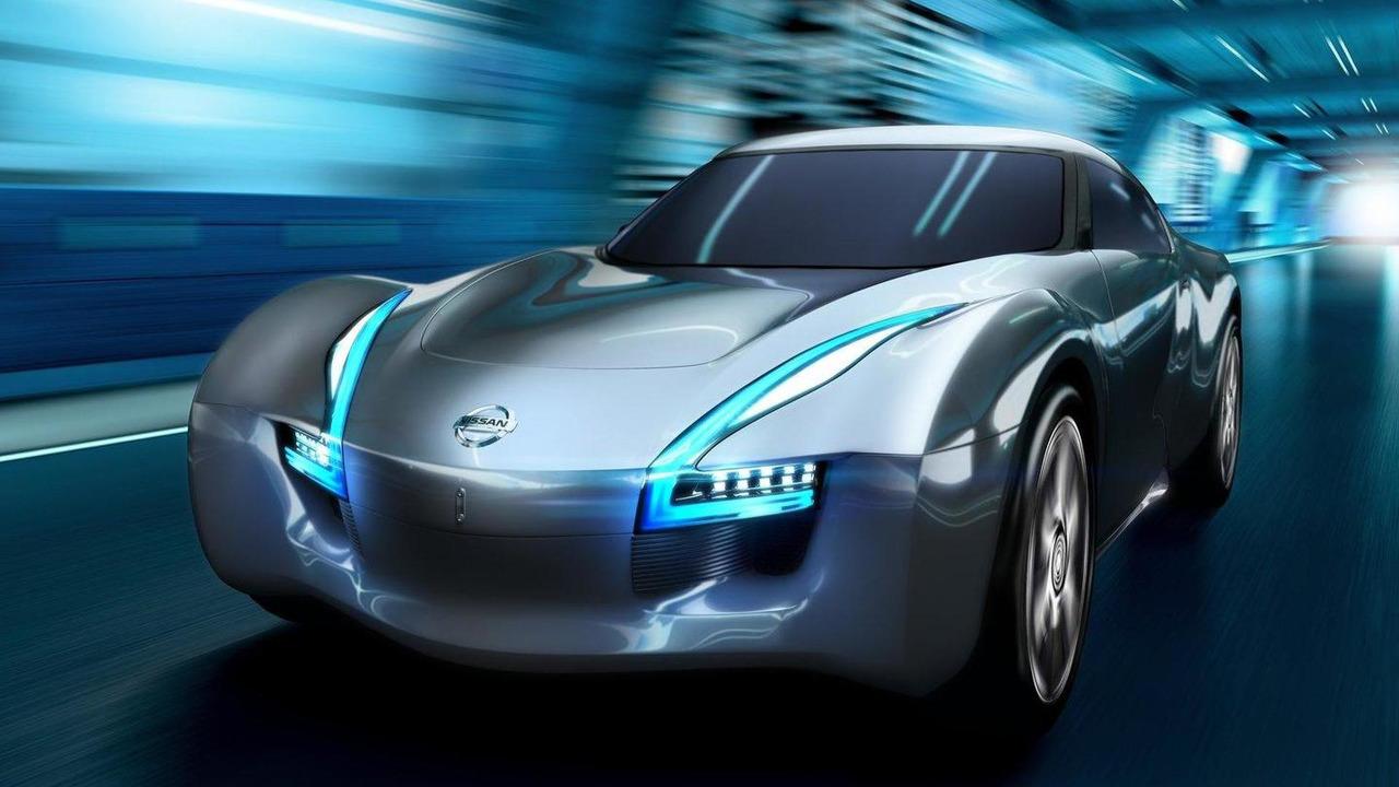 Nissan ESFLOW EV sports car concept 09.02.2011