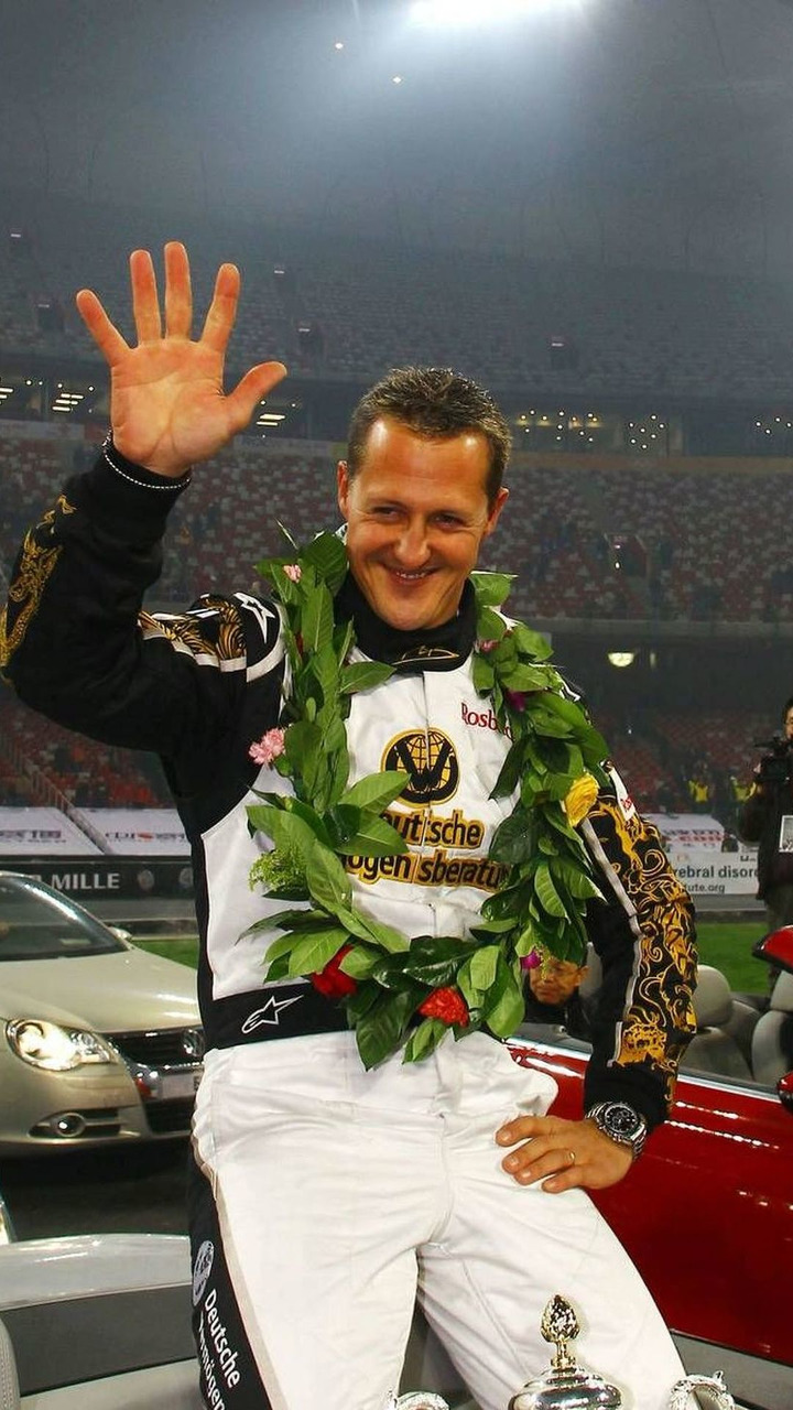 Michael Schumacher (GER), Race of Champions, The Birds Nest Stadium, 04.11.2009 Beijing, China
