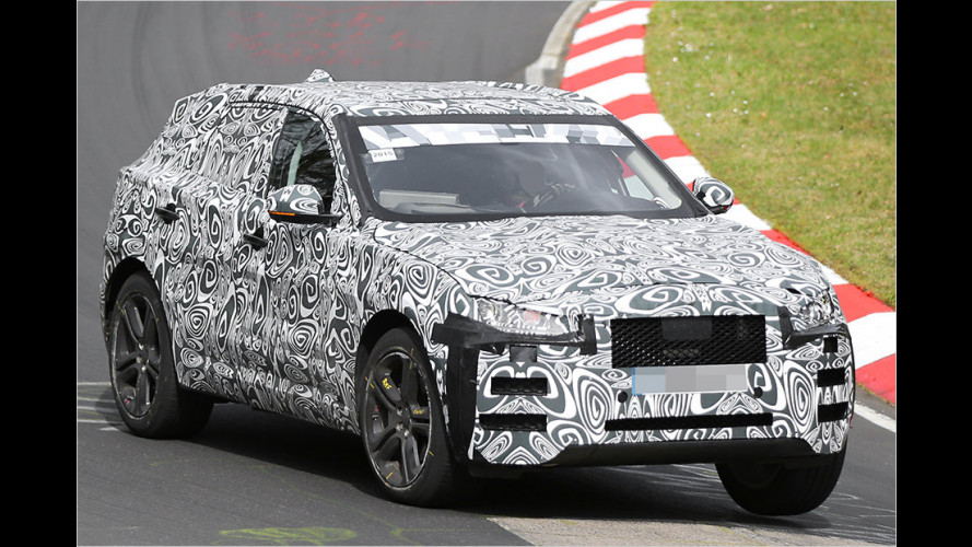 Erwischt: Jaguar F-Pace