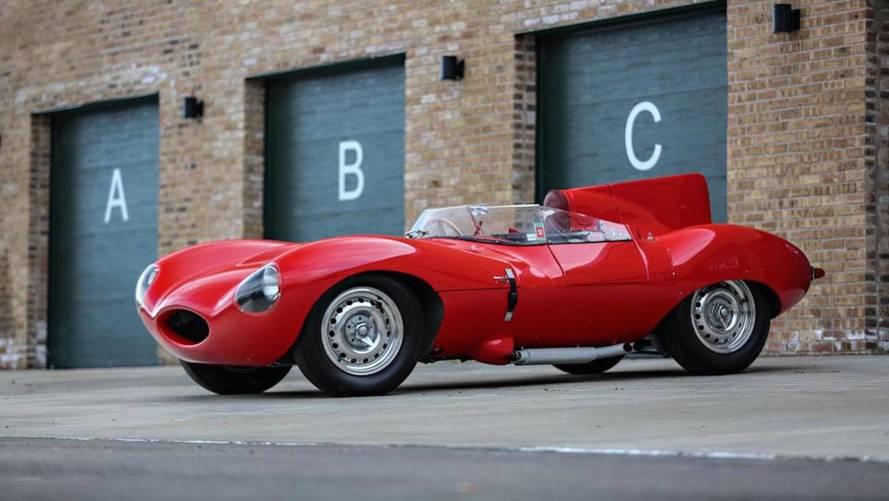 12 millió dollárt is érhet Ecclestone korábbi Jaguar D-Type modellje