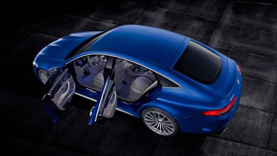 Nézd meg, milyen élőben a négyajtós Mercedes-AMG GT Coupé!