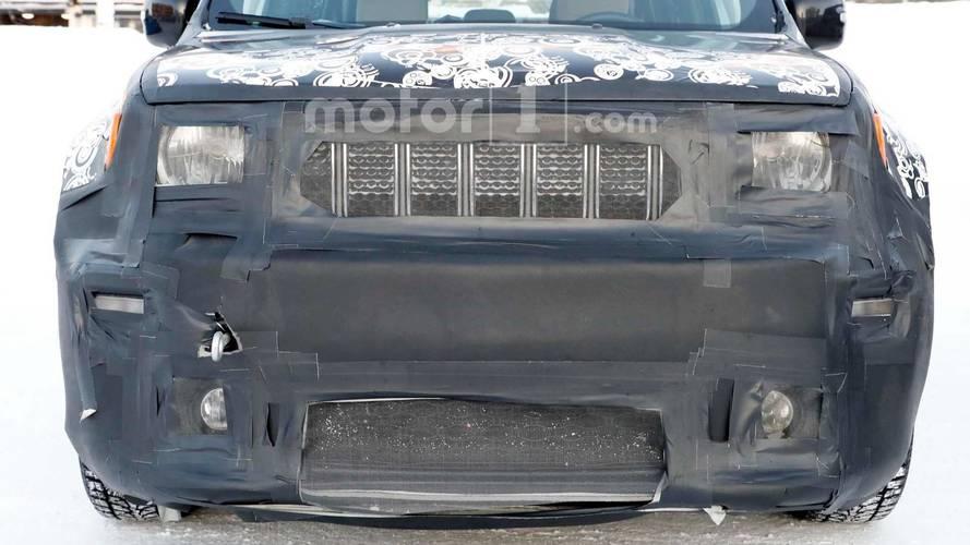 Jeep Renegade Spy Photo