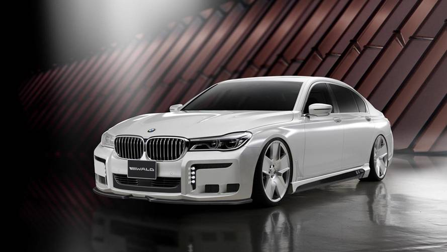 Holy Cow! Black Bison BMW 7 Series By Wald International Is Ugly