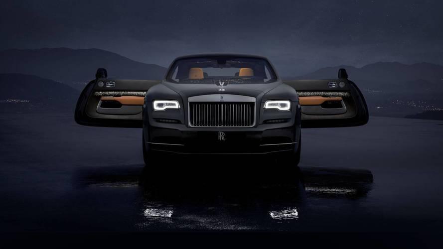 Rolls Royce Wraith Luminary Collection, le stelle cadenti sono di serie