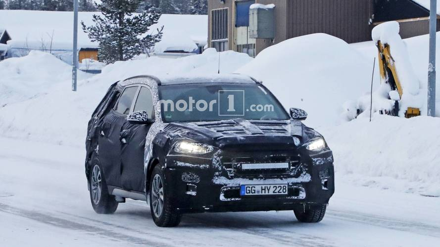 Hyundai Tucson facelift spy photos