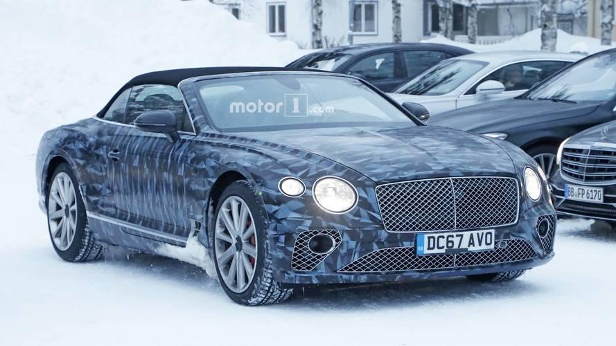 Yeni Bentley Continental GTC kutup kamuflajlarıyla göründü