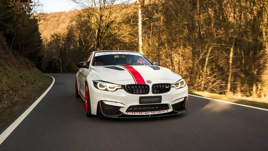 Manhart pousse la BMW M4 à 550 ch !