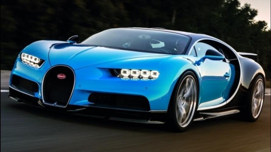Bugatti, una Chiron ibrida da quasi 2.000 CV? Perché no