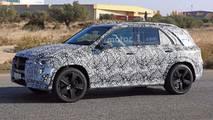 2019 Mercedes-Benz GLE-Serisi casus fotoğraf