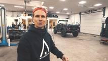 Jon Olsson's Mercedes-Benz G500 cabrio