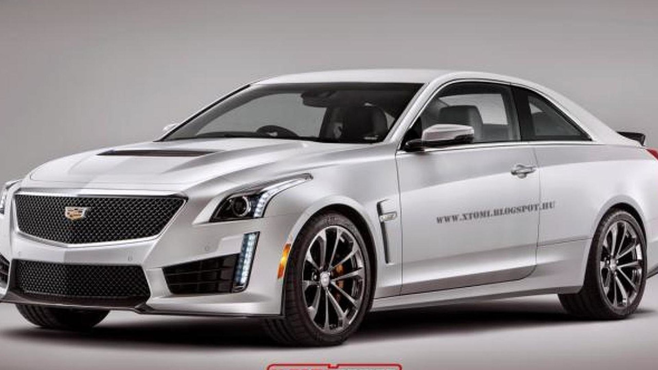 2016 Cadillac CTS-V Coupe render
