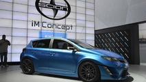 Scion iM concept live in Los Angeles