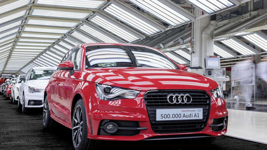 Audi builds their 500,000th A1