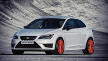 Seat Leon Cupra 280 with Sub8 Performance pack
