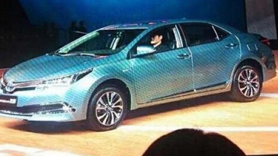 Toyota Corolla Hybrid revealed in China