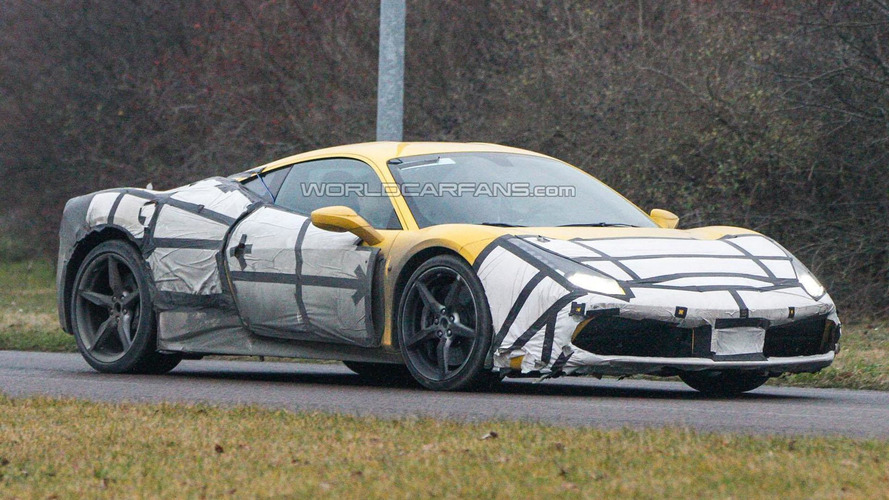 Ferrari 458 M spied showing new details