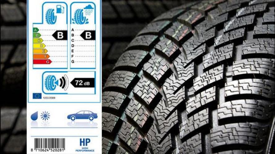 Etichetta europea degli pneumatici, cosa cambia