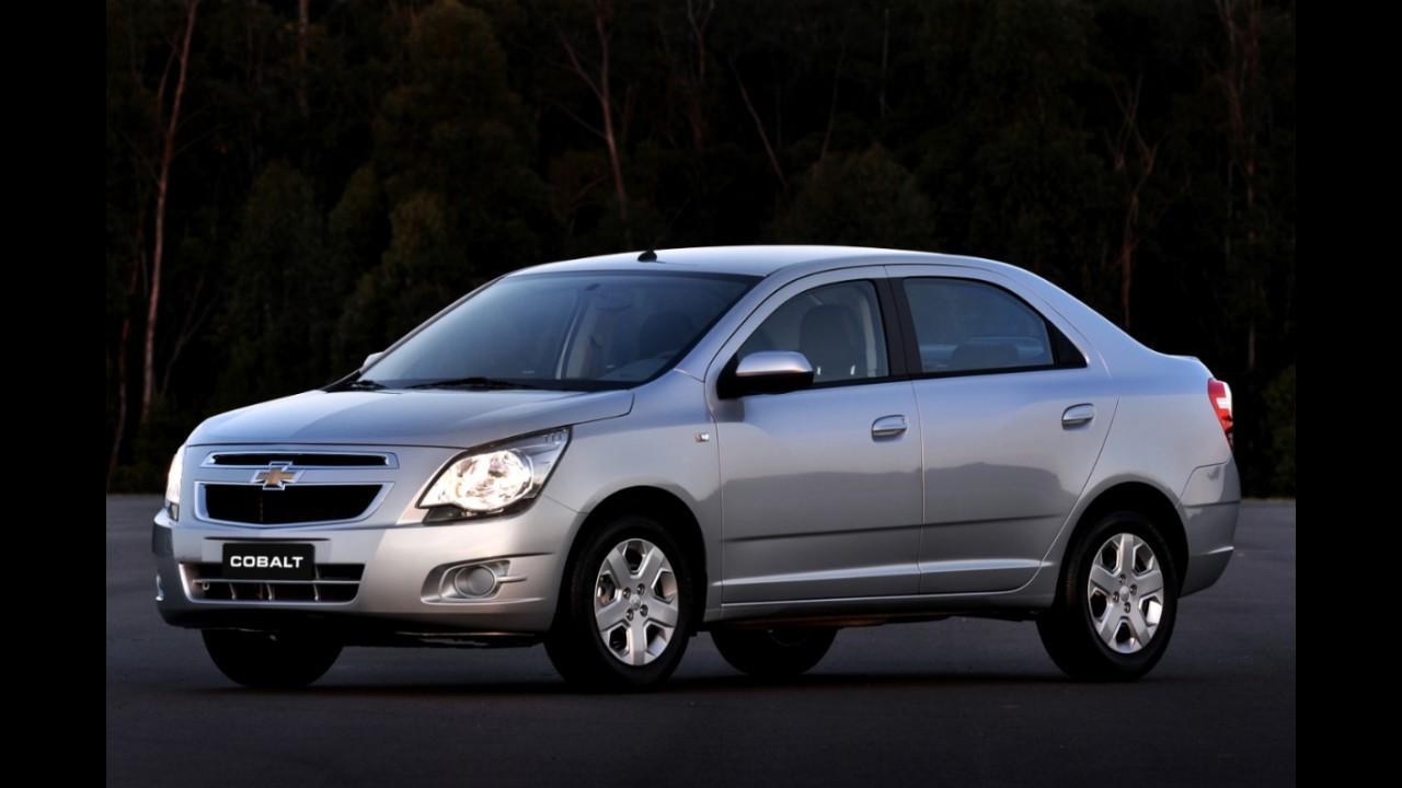 Chevrolet Cobalt LS agora tem freios ABS e duplo airbag de série