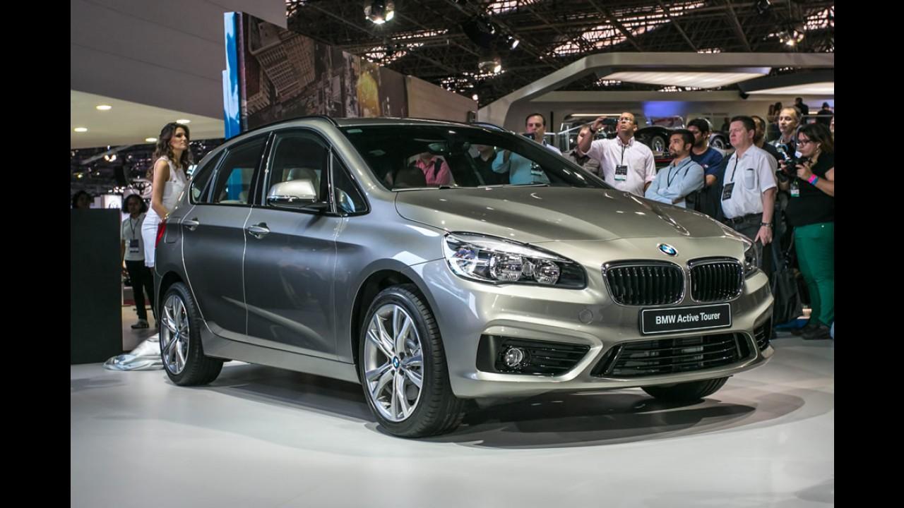 BMW Série 2 Active Tourer, 1º carro com tração dianteira da marca, ganha sistema xDrive