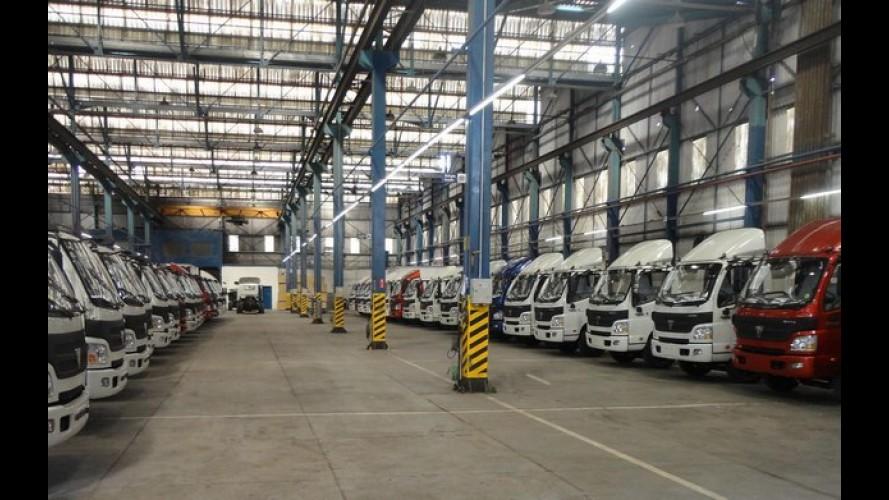 Chinesa Foton faz parceria para instalar duas fábricas no Brasil