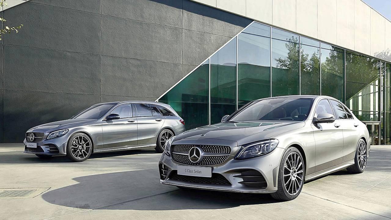 Mercedes C-Klasse Limousine und T-Modell