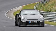 Porsche 911 Speedster Kamuflajsız Yakalandı