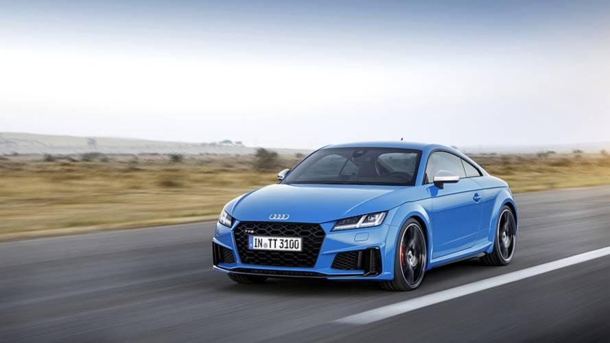 Audi TT/TTS: Facelift mit mehr Leistung