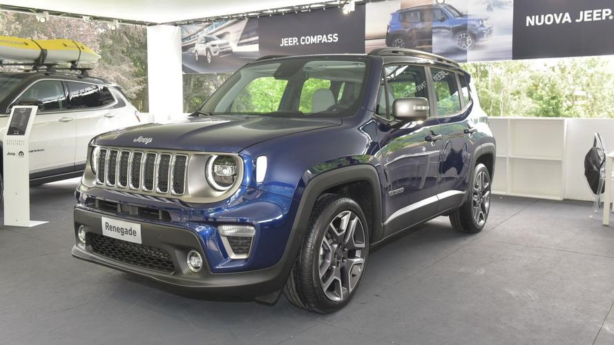 Jeep Renegade 2018 au Salon de Turin