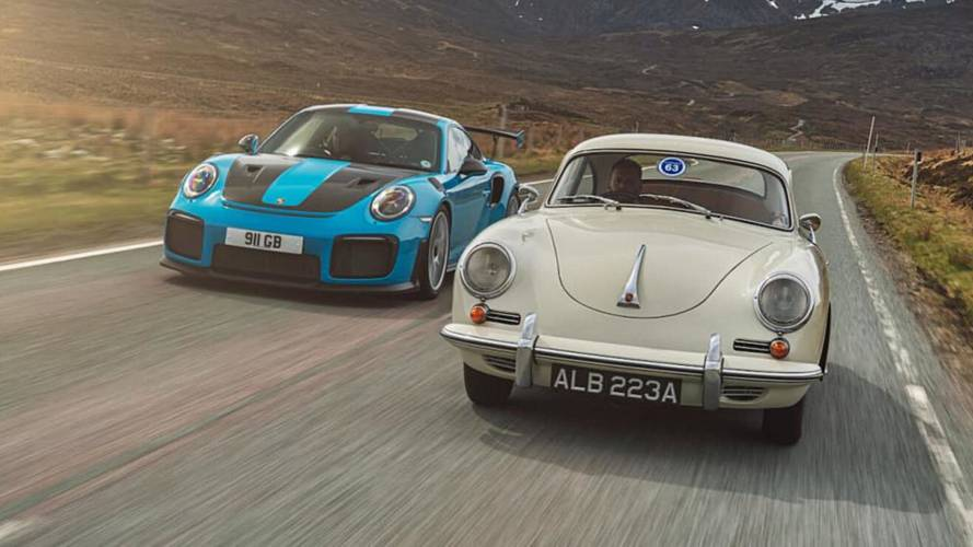 Porsche 356 And GT2 RS; Driving The Past And The Present