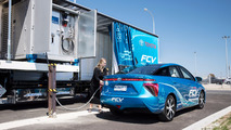 Toyota Avustralya'nın hareketli hidrojen dolum istasyonu