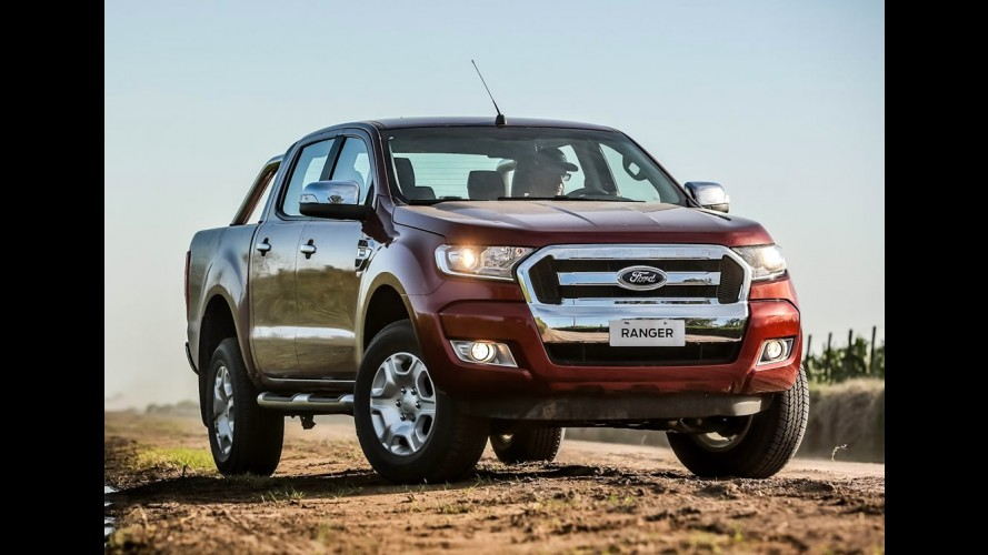 Recall: Ford convoca nova Ranger 2017 por falha no pedal de freio