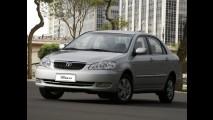 Toyota faz recall de 112.997 unidades de Corolla e Fielder por defeito no airbag