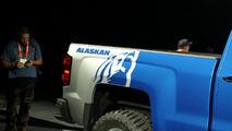 Chevy Silverado Alaskan Edition and High Desert concepts live photos