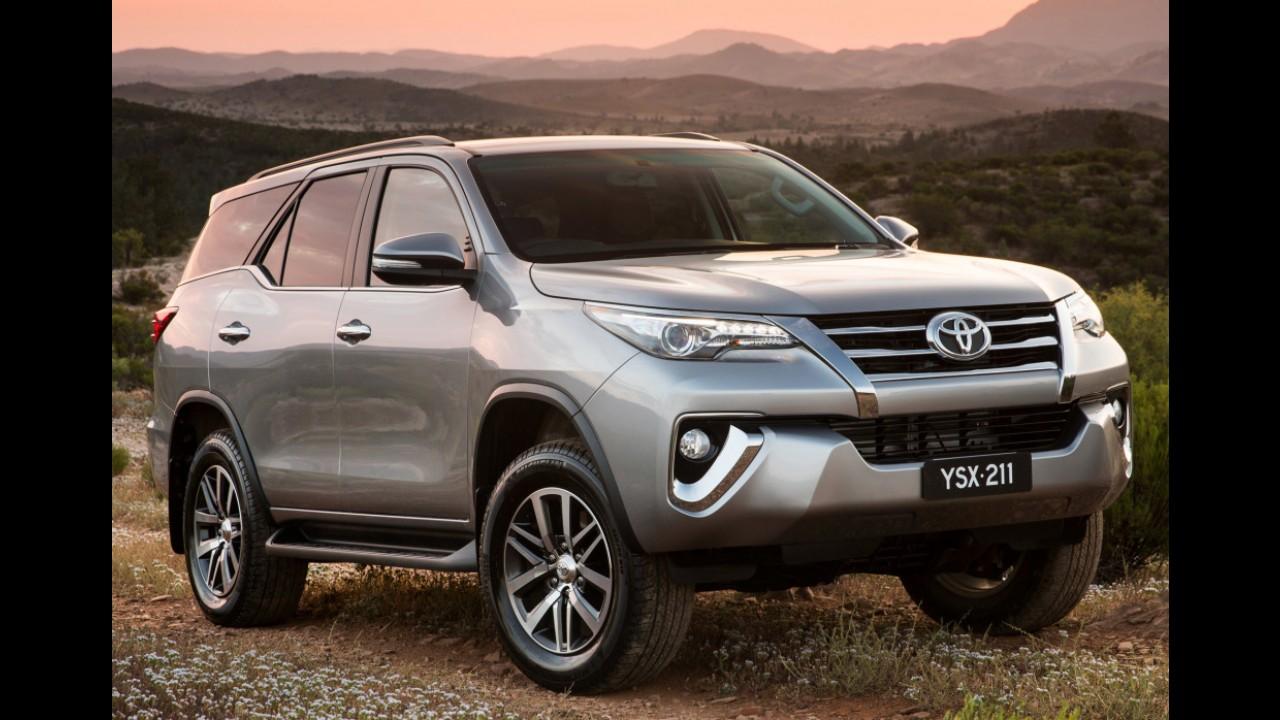 Nova Toyota SW4 estreia em breve e já tem hotsite próprio no Brasil