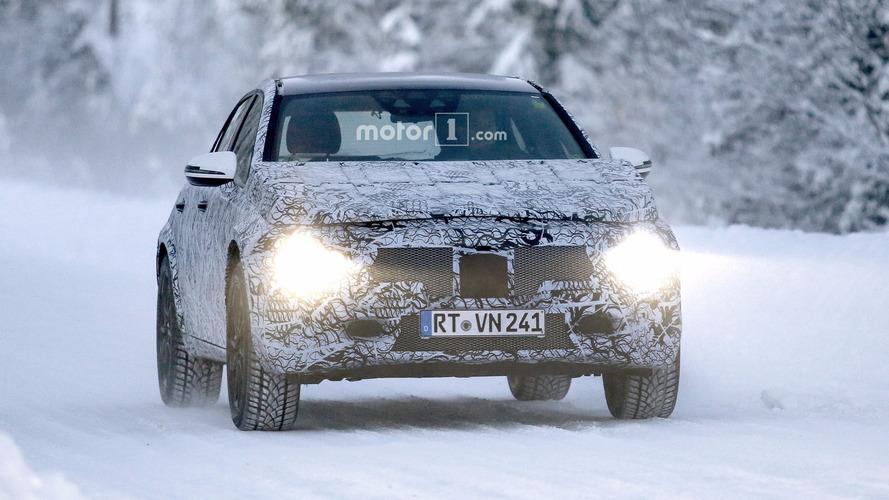 2020 Mercedes GLA ilk kez görüntülendi