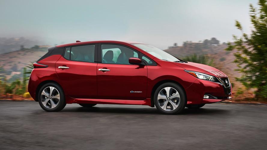 2018 Nissan Leaf Packs More Range, Lower Cost Into Sleeker Shape
