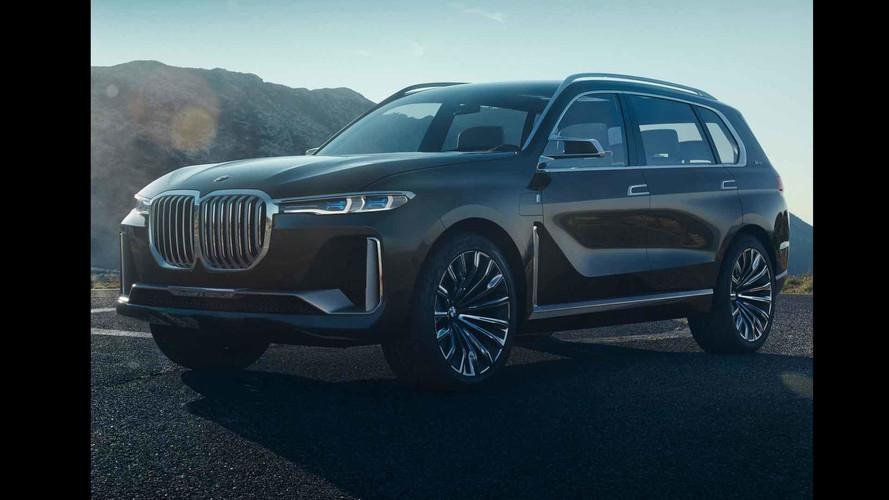 BMW X7 Concept photos en fuite