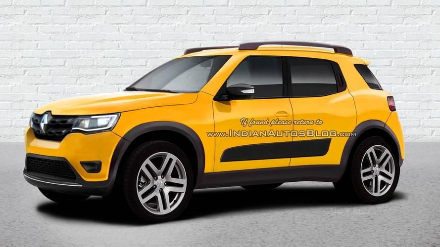 Renault Kwid SUV HBC - Projeção