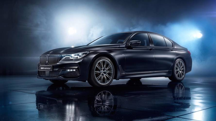 BMW 7 -es sorozat Black Ice Edition