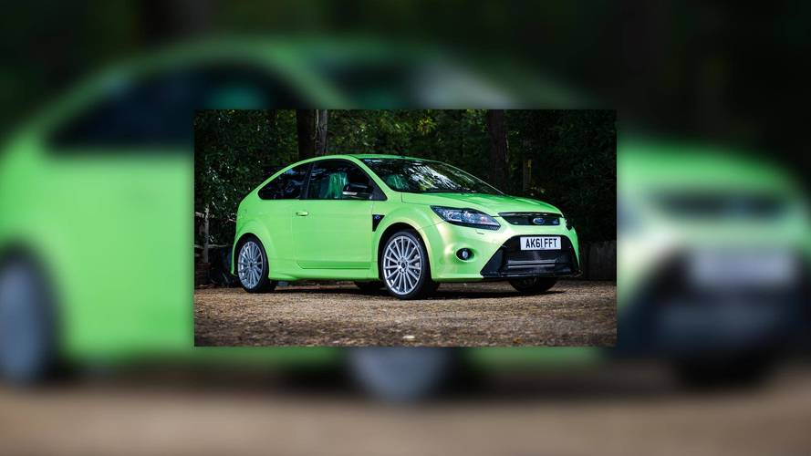 2011 Ford Focus RS With Only 18 Miles Auctioned For $58K [UPDATE]