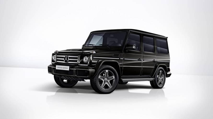 Mercedes G-osztály Limited Edition