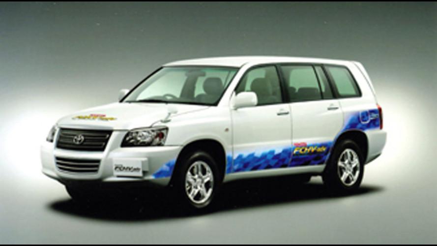 Toyota: con un pieno di idrogeno 830 km