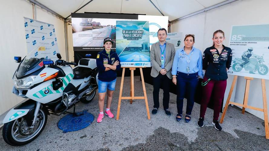 El Circuito de Jerez y la DGT presentaron una campaña de seguridad vial