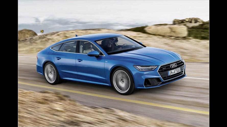 Länge läuft: Der neue Audi A7 Sportback