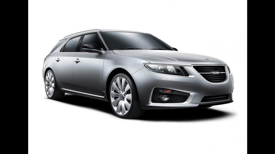 La Saab 9-5 Wagon debutta al Salone di Ginevra