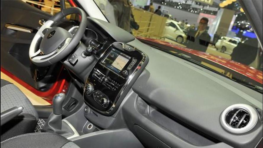 Renault R-Link, il tablet della nuova Clio