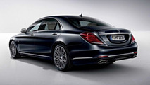 Purported picture of the 2015 Mercedes S600