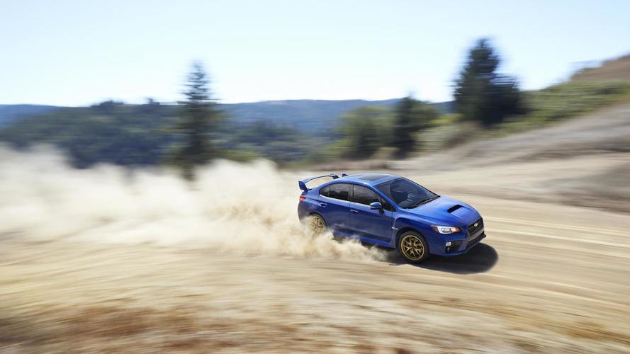2015 Subaru WRX STI breaks cover in Detroit, has a 305 bhp 2.5-liter turbo engine [video]