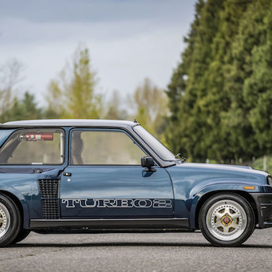 Handsome Renault R5 Turbo II Seeks Its Second Owner
